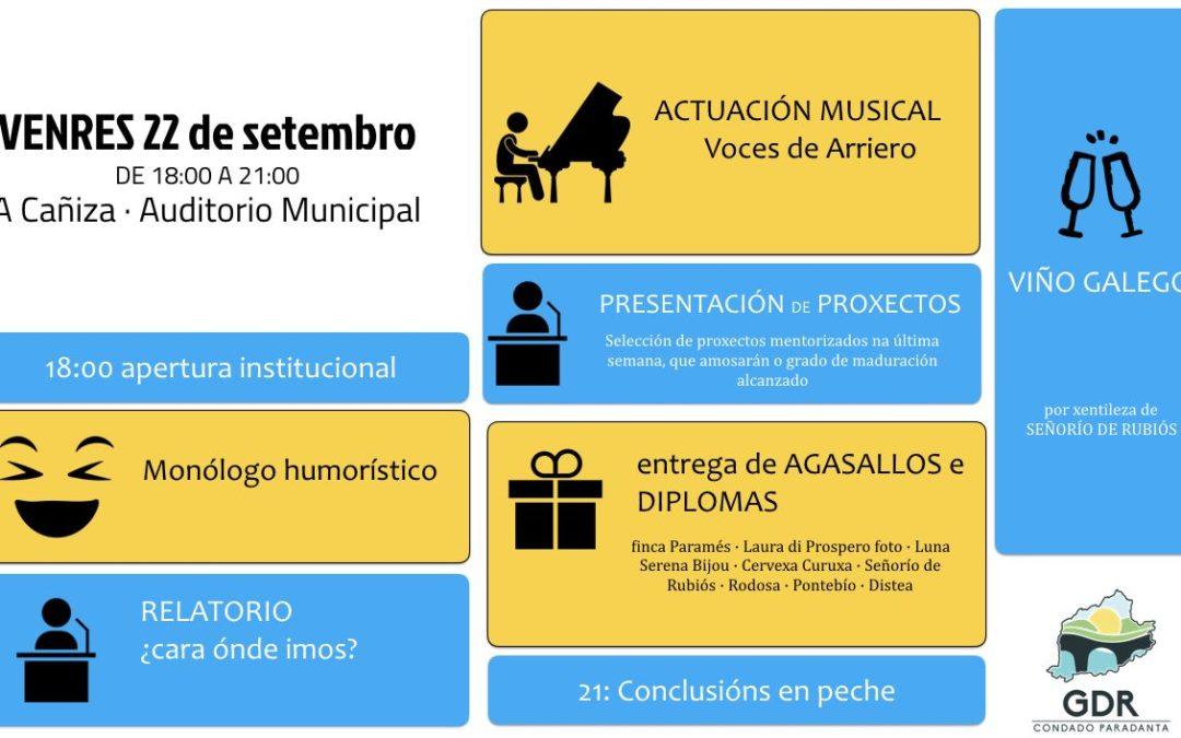 XORNADA DE PECHE DO PROGRAMA DE CAPACITACIÓN PROFESIONAL PARA EMPRENDEDORES