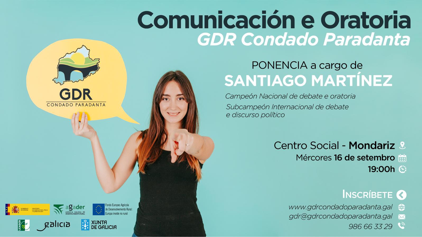 XORNADAS DE COMUNICACIÓN E ORATORIA. CONFERENCIA.