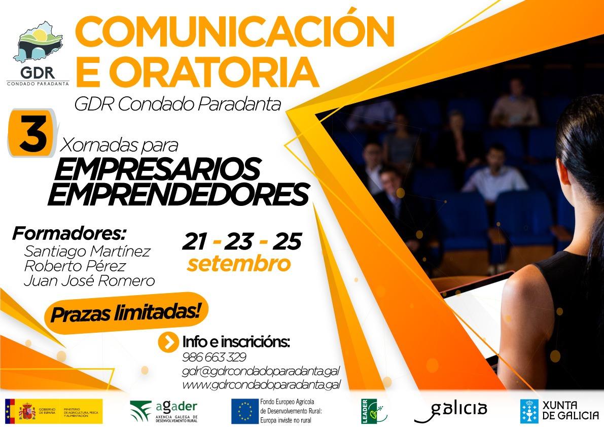XORNADAS DE COMUNICACIÓN E ORATORIA PARA EMPRESARIOS E EMPRENDEDORES